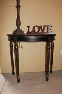 Black & Gold Coffee Tables/End Tables