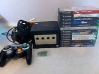 Nintendo Gamecube Console and 13 Games (2)