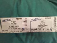 Goat tickets x2 Brixton Academy London 29/7
