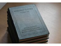 Antique set of The Workshop Practice Vol 1-8 Edited By William H Atherton (Vintage Collection)