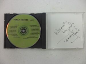 Tommy Hunter Autographed CD