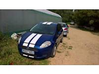 Breaking fiat grande punto dark blue 599/A 1.9 turbo diesel all parts available