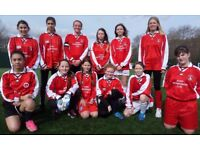 Girls Football players for new Under 16 all Girls team at Bexleyheath DA6 - all abilities welcome