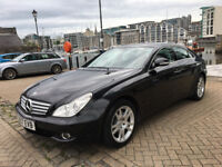 ***2007 MERCEDES CLS 320 CDI 7-G TRONIC BLACK, F/S/H, 4x NEW TYRES, LOW MILEAGE