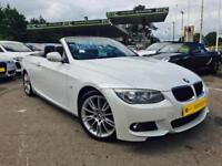 2013 BMW 320d M Sport Convertible **Pearl White - 29,000 Miles Full History**