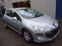 Peugeot 308 s 120,5 dr hatchback, clean tidy car,runs and drives well,low mileage,only 48k,FL58JFE