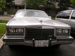1984 Cadillac seville, Classic Vehicle
