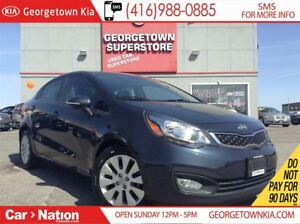 2015 Kia Rio EX+ | SUNROOF | HEATED SEATS | BLUETOOTH |