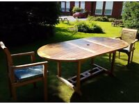 Genuine Teak Garden Furniture for Sale - Unused - RRP £7590 - will split/sell as sets