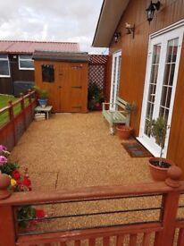 Sandy Hollow Amazing Chalet sleeps 6, South Shore Holiday Village Bridlington FREE ELECTRICITY