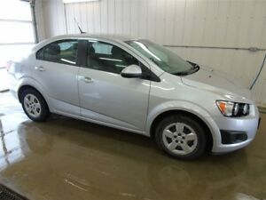 2012 Chevrolet Sonic LS, Manual Transmission