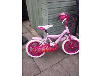 Girls Angel 14 Bike