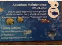 Aquarium Maintenance *New* Holiday cover