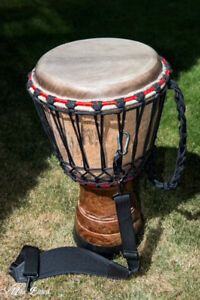 "DJEMBE  13""  and  10"""