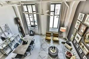Amazing 1+1 Bdrm Condo Loft Located At 245 Carlaw Ave