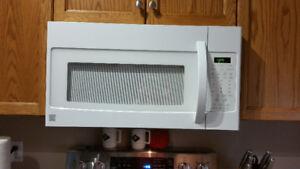 Kenmore Microwave Hood Combination