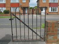Heavy metal garden gate