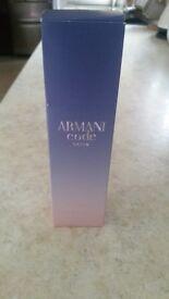 Armani code satin 75ml
