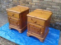 Pair of Ducal Pine Bed Side Cabinets FREE LOCAL DELIVERY