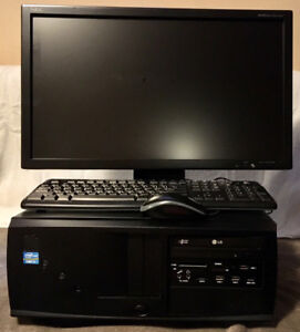 "i7 3.40GHZ QUAD CORE DESKTOP COMPUTER WITH 23""MONITOR"