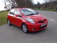 2010 60 TOYOTA YARIS 1.4 TR D4D 5 DOOR £20 ROAD TAX