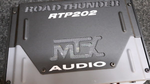 MTX Woofer Box with amplifier