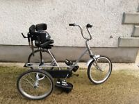 Tricycle for child with Special Needs