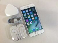 *EXCELLENT* Apple iPhone 6s 16GB, WHITE SILVER, Unlocked, +WARRANTY, NO OFFERS