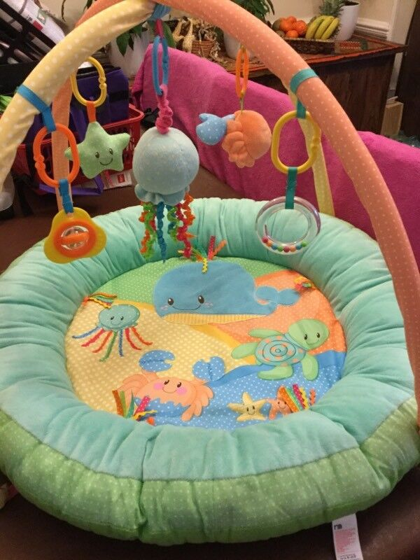 Mothercare Baby Playmat and Arch