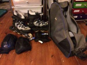 K2 Ascent Roller Blades size 8