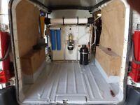 57 plate Peugeot Expert lwb Hi Top with tow bar twin sliding doors Van 2man Window Cleaning Set Up