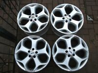 "GENUINE Ford Focus ST/Mondeo/Transit 18"" Inch Alloys/Rims Only x4"
