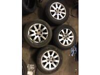 "4x 15"" VW Alloy Wheels 5x112 PCD"