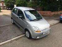 CHEVERLOT MATIZ 1.0 PETROL MANUAL 5DR 12MOT FULL SERVICE HISTORY 58K ONLY