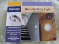 WIRELESS REMOTE BRITE LIGHT (Brand New & Boxed)