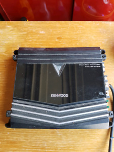 Kenwood 12in sub and amplifier