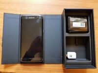 Samsung Galaxy S7 Edge excellent condition. Black, unlocked to any network, boxed
