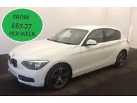 FROM £265.60 PER MONTH 2014 BMW 118 2.0TD SPORT STEP 5 DOOR AUTO DIESEL
