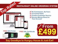 Web Design Birmingham Restaurant Online Ordering System only From £499 (Limited Time Offer)