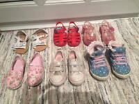 Girls infant size 5 shoe bundle