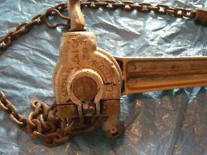 Columbus-McKinnon Chain Hoist/Puller