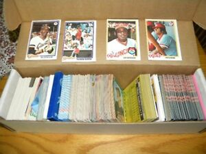 Various Sports and Other Trading Cards