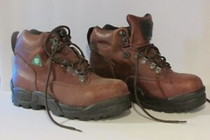 Lightly worn Women's CSA approved work boots for sale