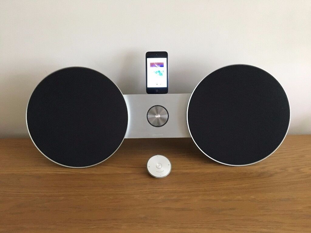 bang and olufsen beosound 8. bang \u0026 olufsen b\u0026o beosound 8 ipod dock/aux music system with ipod and beosound