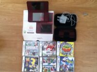 dsi xl console and games