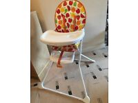 High chair, mothercare