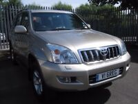 Toyota Landcruiser LC4 D-4D Auto (2003) 8 seater.