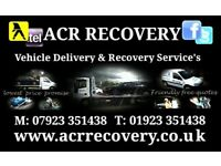 CAR RECOVERY / CAR DELIVERY : 07923 351438 Watford - St Albans - Hemel