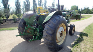 John Deere 4010 Diesel with loader and 3pt hitch