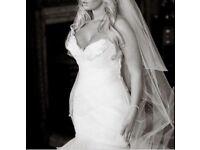 Fishtale Wedding dress Pronovias size 8-10